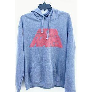 Tops - 🌿Star Wars Graphic Hooded Sweatshirt Size XL